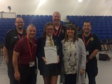 Alyssa's life-saving award