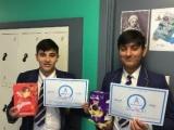 Eggarty Maths Winners
